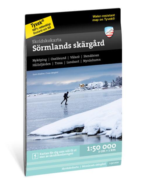 Skridskokarta Sörmlands_skärgård_kartkungen