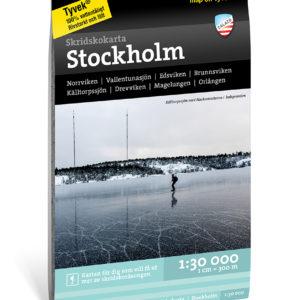 Skridskokarta Stockholm kartkungen