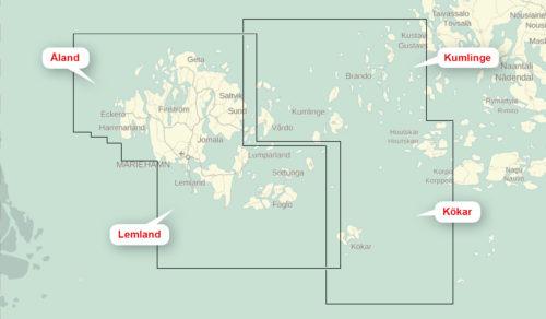 Åland Kökar Kumlinge, Lemkand kartkungen