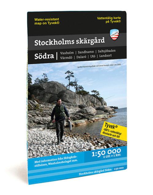 Stockholm södra skärgård kartkungen