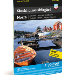 Stockholms norra skärgård roslagsleden Domarudden Norrtälje kartkungen