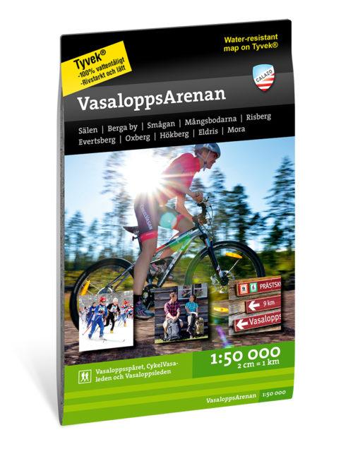 terrängkarta Vasalopps Arenan_1-50000