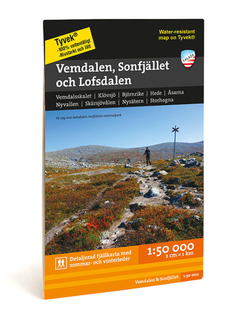 Karta Vemdalen, Sonfjället & Lofsdalen 9789186773403