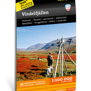 karta Vindelfjällen artikelnummer 9789188335265