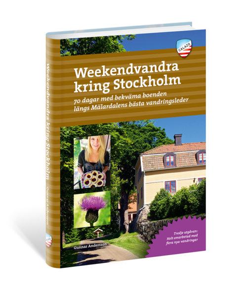 Weekendvandra kring Stockholm Artikelnummer 9789189079373