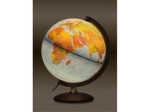 jordglob med lampa astra 30 cm