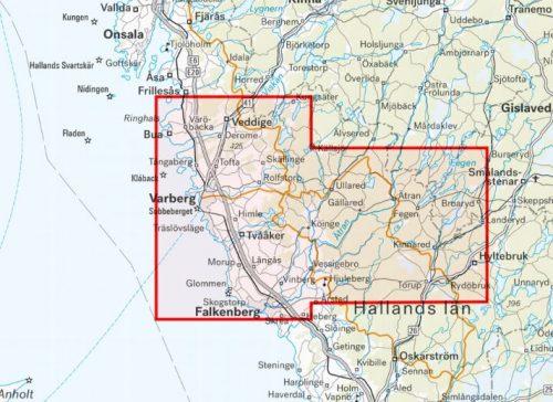karta norra halland vandring mtb