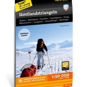 Fjällkarta Jämtlandstriangeln calazo 9789188779250