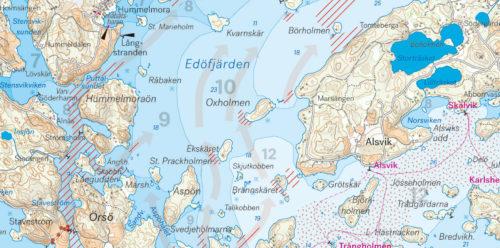 kartkungen skärgården södra Edöfjärden