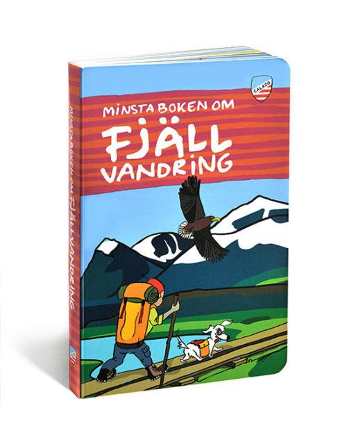 bok minsta boken om fjällvandring för barn