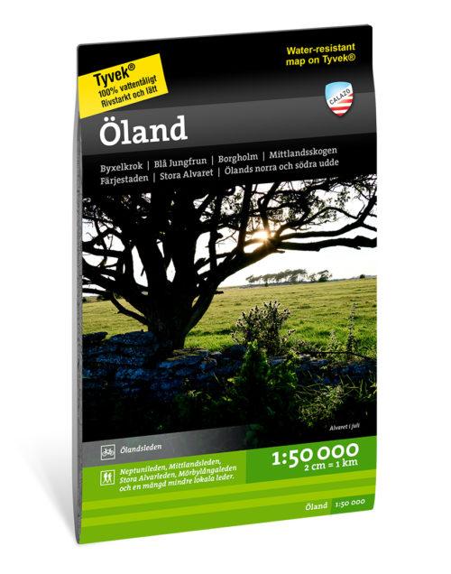 terrängkarta över Öland calazo artikelnummer 9789188335937