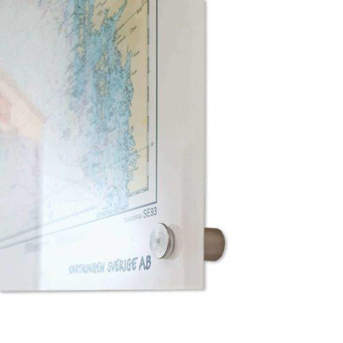 sjökort-bohuslän-skagerrak för vägg plexiglas