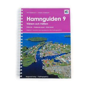 Hamnguiden 9 Framsida Vänern, Vättern, Göta kanal, Dalslands kanal Trollhätte kanal Kartkungen