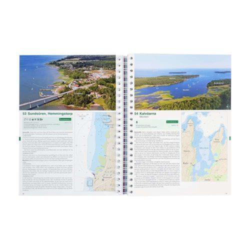 Hamnguiden 9 Vänern, Vättern, Göta kanal, Dalslands kanal Trollhätte kanal Kartkungen