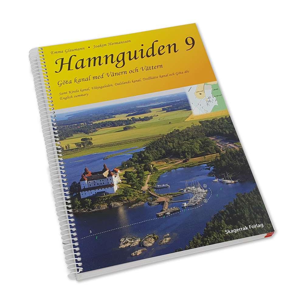 Hamnguiden 9 Gota Kanal Med Vanern Och Vattern Kartkungen