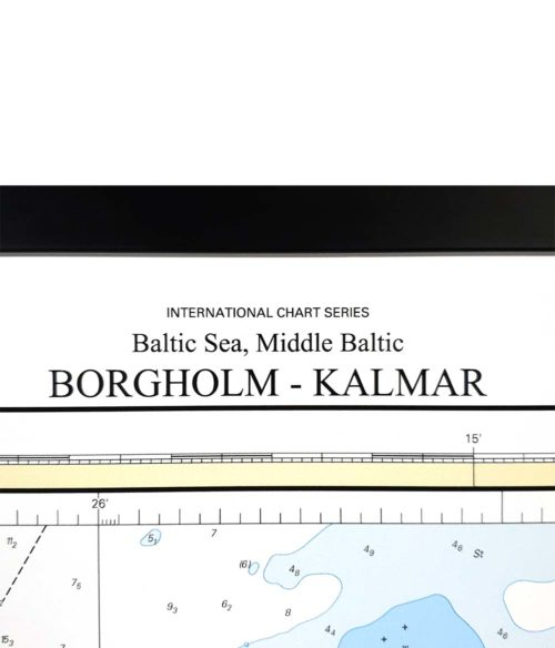 Sjökort-med-ram-Borgholm-Kalmar-INT1224SE712