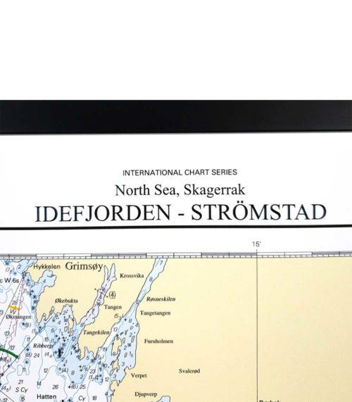 Sjökort-med-ram-Idefjorden-Strömstad-INT1313SE937-01