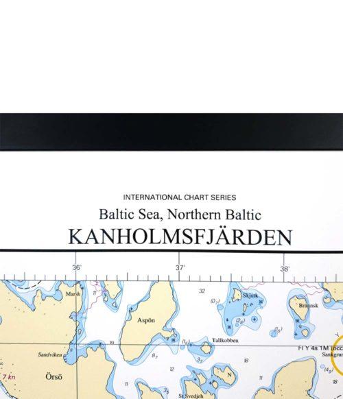 Sjökort-med-ram-Kanholmsfjärden