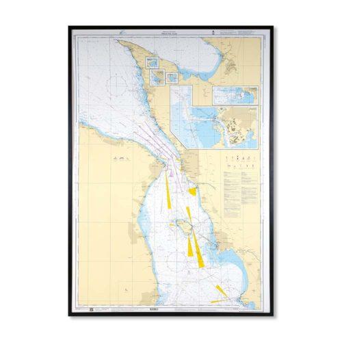 Inramat-sjökort-öresund-norra-SE922-Sjökort 922