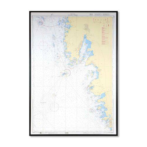Inramat-sjökort-Tistlarna-Varberg-INT1318SE925-01