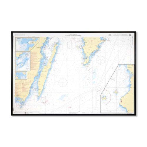 Inramat sjökort-Utlängan-Öland-Gotland-Södra-INT1203SE71