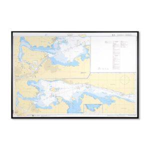 Inramat-sjökort-bråviken-INT1231SE6212-01