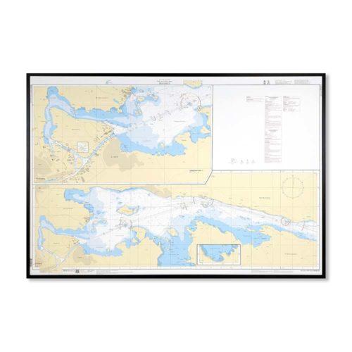 Inramat-sjökort-6212-bråviken-INT1231SE6212-01