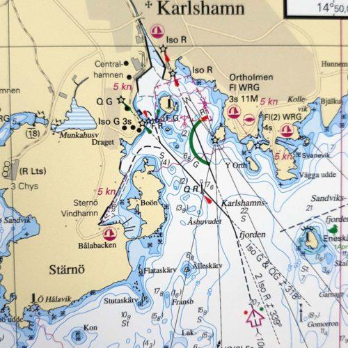 Sjökort-för-väggen-Åhus-Karlshamn-INT1326SE742-01