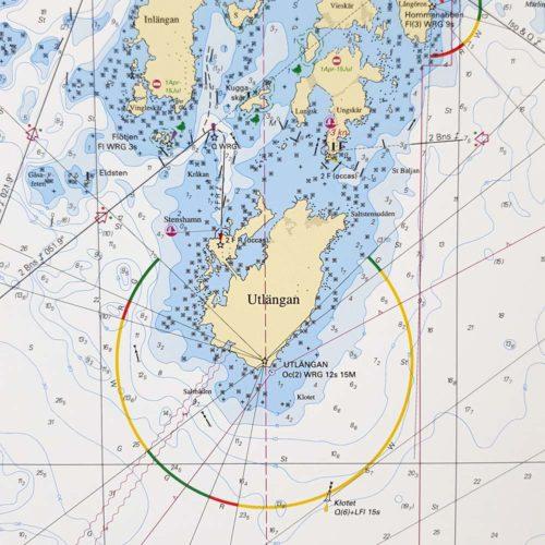 Sjökort-med-ram-Utlängan-Ölands-Södra-Udde-INT1222SE714-03