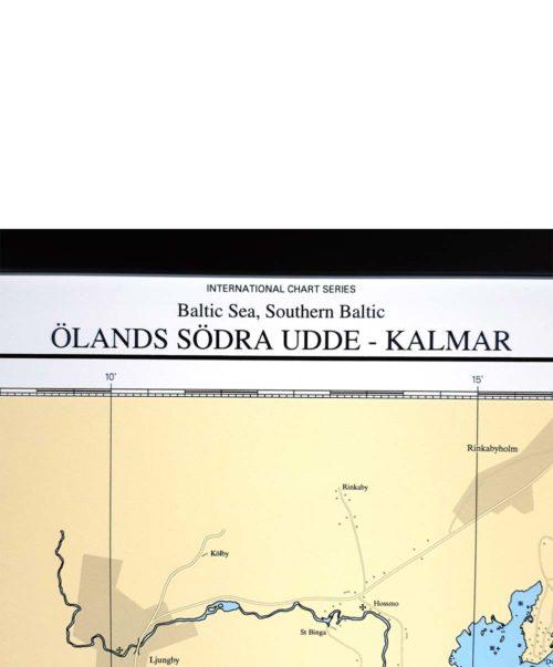 Sjökort-med träram-Ölands-Södra-Udde-Kalmar-INT1223SE713-03