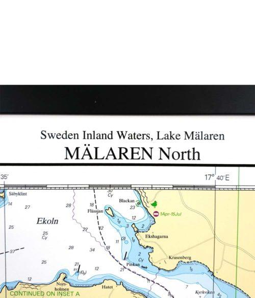 Sjökort-med-träram-för-väggen-Mälaren-Norra-SE112-01