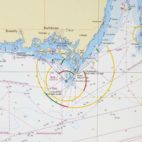 inramat-sjökort-Östersjön-Södra-Karlskrona-SE7-02