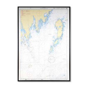 sjökort-för-vägg-bredskär-umeå-holmön-INT1173SE512-01