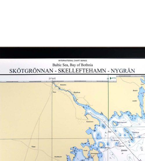 sjökort-för-vägg-skötgrönnan-skelleftehamn-nygrån-INT1176SE42