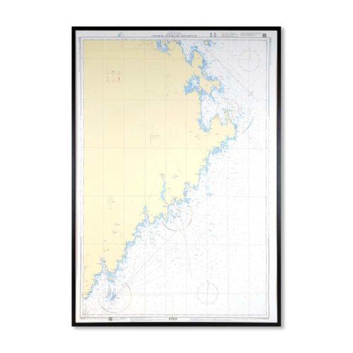 sjökort-för-vägg-vännskär-bjuröklubb-skötgrönnan-INT1784SE422-01