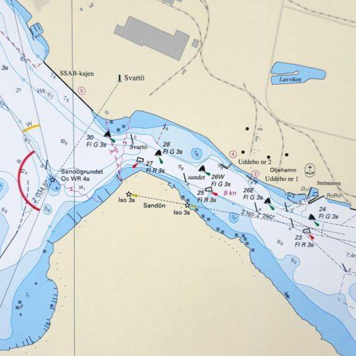 sjökort-luleå-haparanda hamn-ssabhamnen-INT1180SE4101