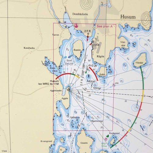 sjökort-med-ram-Husum-skag-nordmaling-järnäs-INT1171SE514 (2)