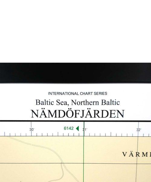 sjökort-med-ram-nämdofjärden-ingarö-INT1769SE6145