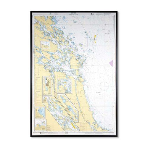 sjökort-på-väggen-öregrund-väddö-INT1777SE536-01-Sjökort 536