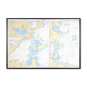 sjökort-på-väggen-gävle-approach-INT1242SE5342-Sjökort 5342