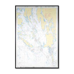 sjökort-på-väggen-landsort-INT1233 Sjökort 6172