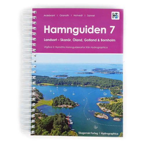 Hamnguiden 7 Framsida Landsort-Skanör Öland Gotland Bornholm Kartkungen