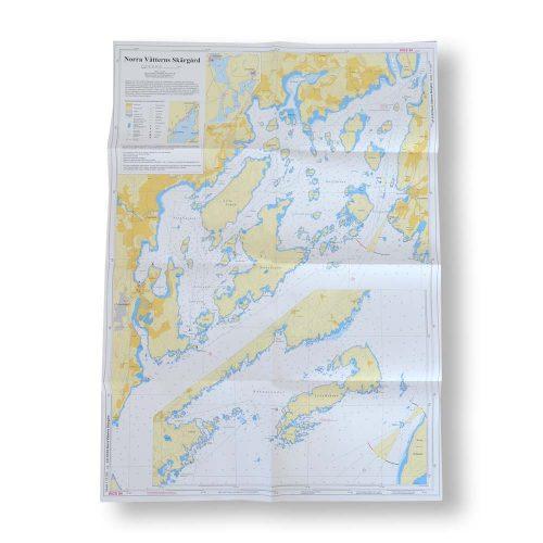 sjökort-121-01-02-hydrographica-norra-vätterns-skärgård-och-lilla-röknen-exempelbild