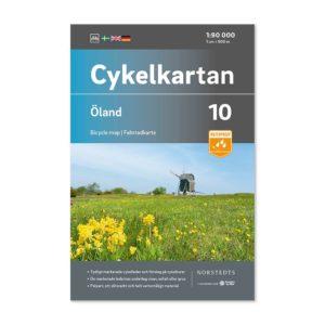 Cykelkarta 10 Öland bild framsida 9789113106168