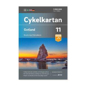 Cykelkarta 11 Gotland bild framsida (Skala 100 000) 9789113106175