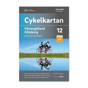 Cykelkarta 12 Västergötland Göteborg bild framsida 9789113106182
