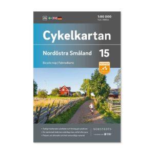 Cykelkarta 15 katalogbild framsida Nordöstra Småland 9789113106212