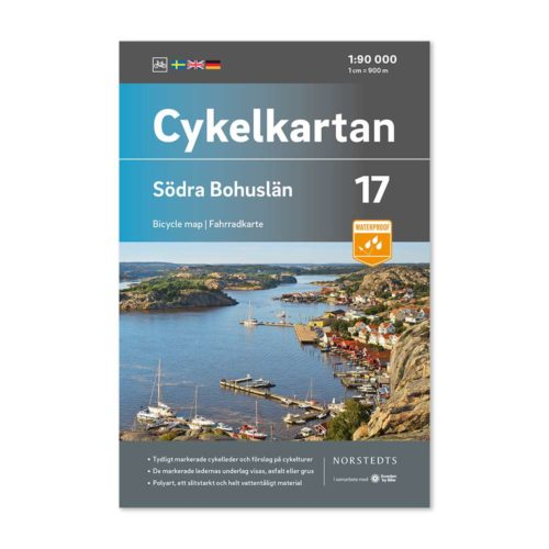 Cykelkarta 17 Södra Bohuslän framsida 9789113106236
