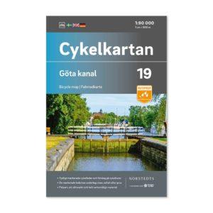 Cykelkarta 19 Göta Kanal framsida 9789113106250