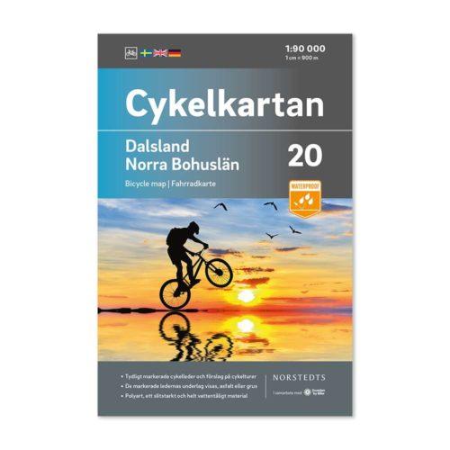 Cykelkarta 20 Dalsland Norra Bohuslän 9789113106267-1